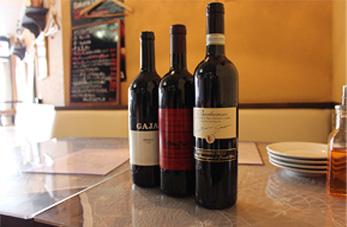 ※赤・白、ハウスワイン、スパークリングワインなど、たくさんのワインを取り揃えております。本場のイタリア料理と一緒に美味しいワインはいかがですか?